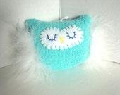 Plush Sock Owl, Unique Gift, Owl Decoration