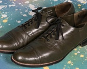 Green STACY ADAMS Men's Dress Shoes Size 11 D