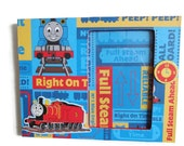 Personalized Colorful Thomas the Train Frame Kids Decor 4 x 6 Thomas the Train frame