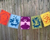 Animal Compassion Prayer Flags.