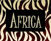 Africa Step Stool for Katie Foster