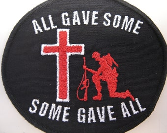 "Fallen Soldier ""All Gave Some, Some Gave All"" Patch"