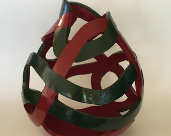 Totally Mixed Up Gourd Vase