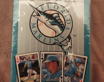 Florida Marlins 1993 Inaugural Year Bicycle Playing Cards