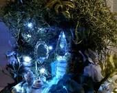 Fairy Basket Cottage ~ Petite Blue Cottage