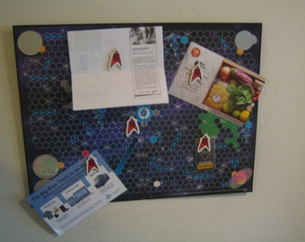 1992 Star Trek Magnet Game Board