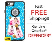 OtterBox Defender Phone Case for iPhone 6/6s, 6 Plus/6s Plus, 5/5s/SE, 5c, Samsung Galaxy 3 Photo Collage Photograph Image Phone Case