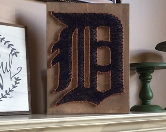 Made to order Detroit Tigers String Art