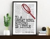 Wall art smart Quote Print, Sherlock holmes fan, Wall Decor, College Dorm Sherlock Poster print - Bedroom wall art- Geek Poster print BPTQ09