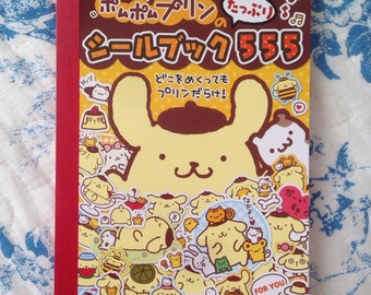 Sanrio Pompompurin sticker boook