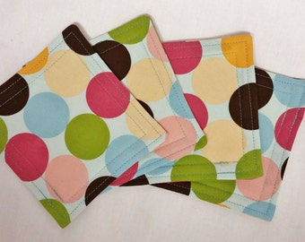 Fabric Coasters - Set of 4 Fabric Coasters