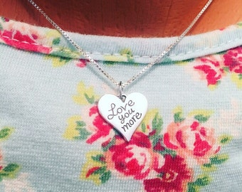 Love You More Necklace - Love You More Jewelry