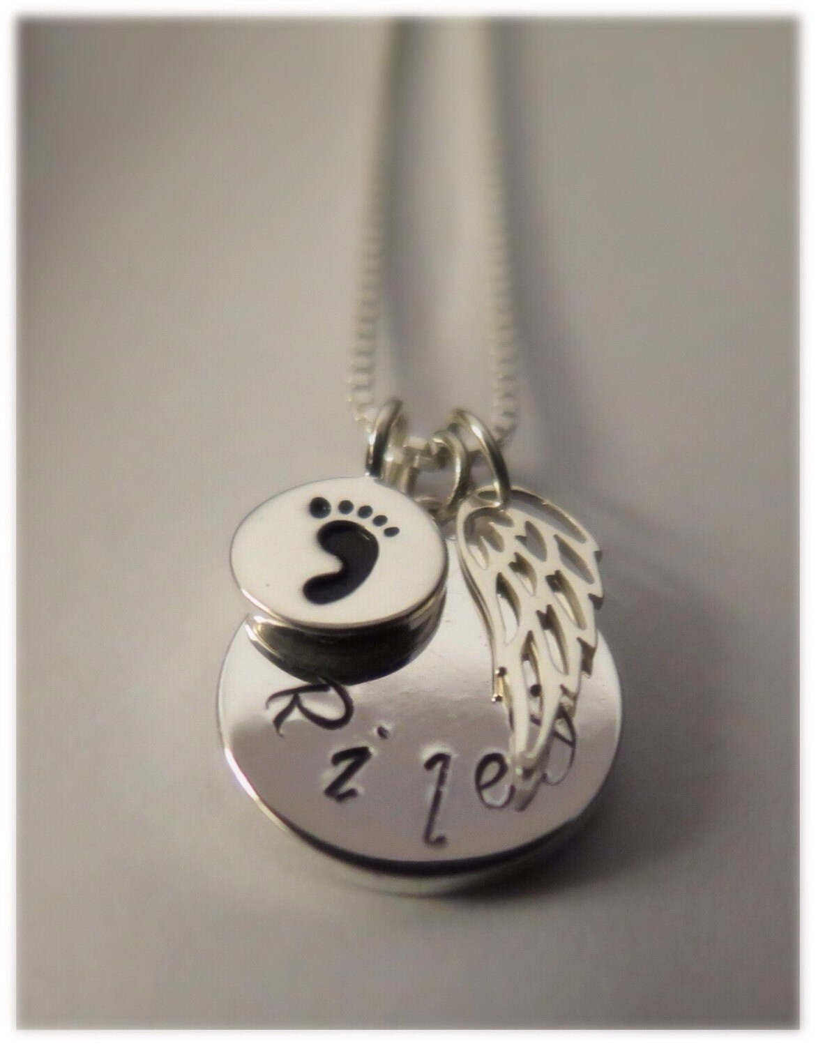 Miscarriage jewelry personalized miscarry necklace for Kay com personalized jewelry