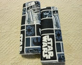 Star Wars Infant/Toddler Reversible Car Seat Strap (Your choice of minky)
