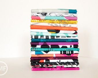 Avant Garde Full Collection Fat Quarter Bundle, 20 Pieces, Katarina Roccella, Art Gallery Fabrics, 100% Cotton Fabric, AVG
