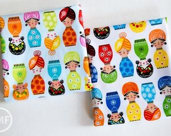 Little Senoritas Fat Quarter Bundle, 2 Pieces, Suzy Ultman, 100% Cotton, Robert Kaufman Fabrics, ASD-16535