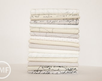 Modern Background Paper Fat Quarter Bundle, 15 Pieces, Brigitte Heitland, Zen Chic, Moda Fabrics, 100% Cotton Fabric, 1580