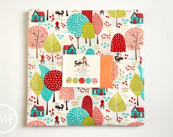 Lil' Red Layer Cake, Stacy Iest Hsu, Moda Fabrics, Pre-Cut Fabric Squares, Ten Inch Fabric Squares, 20500LC