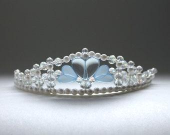 Blue Hearts Princess Tiara