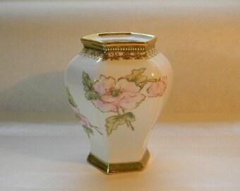 GINGER JAR, RC Nippon Hand Painted Ginger Jar