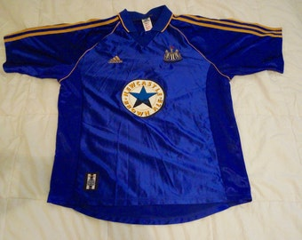 Newcastle United Football Club, Vintage, away jersey, XL
