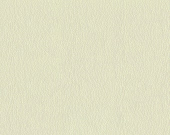 Soft metallic Faux Leather with slight shine.  Light, Stylish Faux Leather Upholstery Fabric - Color:  Frost Diamond - per yard