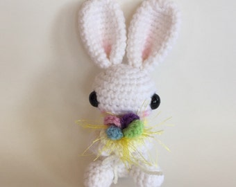 Baby Bunny - made to order - Crocheted Doll - Amigurumi