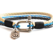 Men's Bracelet SALTI Nautical Bracelet '3rd Wave' (SEA)