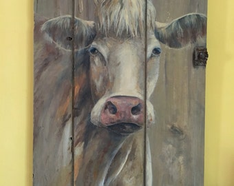 William the cow painting