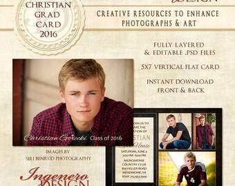 Senior Announcements, Announcement,  Graduation Party Invitations, Graduation Invitation Templates, Graduation Invites,Christian Grad Card16