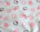 Hello Kitty Fabric/Hello Kitty Patchwork/Fabric by the Yard/Half Yard/Fat Quarter/DISCOUNT Applied to Yard Orders/PRICES VARY
