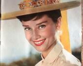 Rare Paris Match 1955 edition of Audrey Hepburn