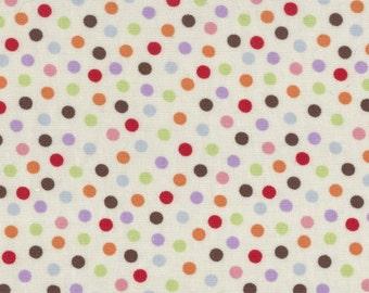 Funky Monkey Dots by Erin Michael - Cream/Multi - Moda 15073 11