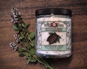 Bath Salts Natural Mineral-Rich COCOAMINT Oregon Peppermint + Dark Chocolate - 10oz Gift Jar