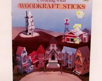 Creating With Woodkrafts Sticks Book
