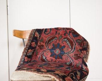 2x3 Antique Distressed Lilihan Rug Mat