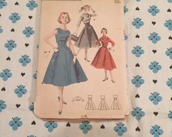 New Look style dress and Bolero. Uncut, Factory Folds