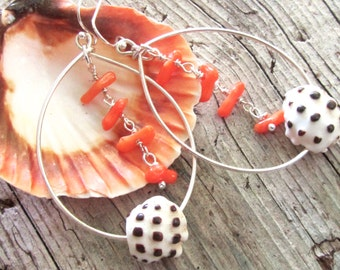 Wild and Free Shell Earrings