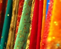 Wholesale lot,recycled/upcycled sari fabric for /home decor/party decor/theme wedding fabric/Bollywood parties