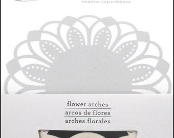 FLOWER ARCHES Circle Edge Punch cartridge by Martha Stewart