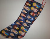 Doctor Who Holiday Stocking