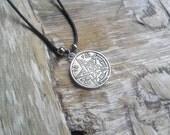 Tetragrammaton Pendant - Occult witchcraft wicca heathen jewelery magic