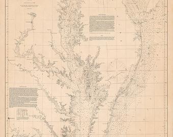 Delaware and Chesapeake Bays – 1855