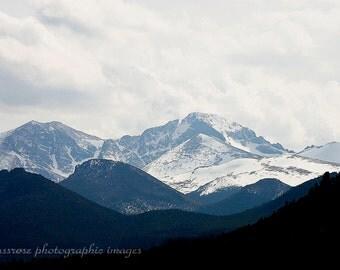 Layers - Long's Peak Estes Park Colorado Fine Art Photography Print