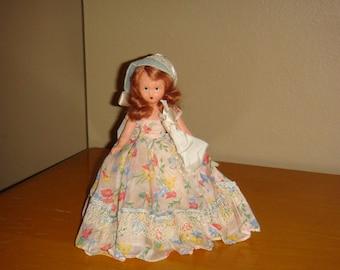 Nancy Ann Story Book Doll #190 A Shower Girl for April 1940s