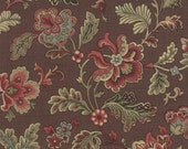 Le Marais - Old Brown Florals by French General  from Moda