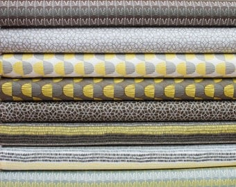 Market Road from Windham Fabric Bundle - Half Yard Bundle - 8 Half yard pieces (B362)