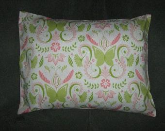 BELLA BUTTERFLIES Travel/Accent/Lumbar pillow cover Michael Miller fabric