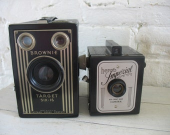 Vintage Herco Imperial 620 Snap Shot Camera
