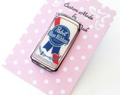 PBR Beer Can Pin